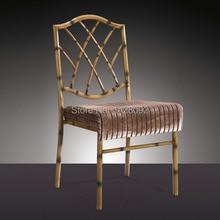 Оптом качественный крепкий стул алюминиевый Кьявари Тиффани стул для свадебных мероприятий Вечерние