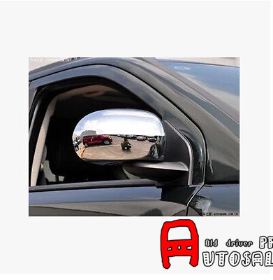 For <font><b>Jeep</b></font> <font><b>Compass</b></font> 2011 2012 2013 <font><b>2014</b></font> 2015 ABS Chrome Rearview Side Door Mirrors Cover Trim image