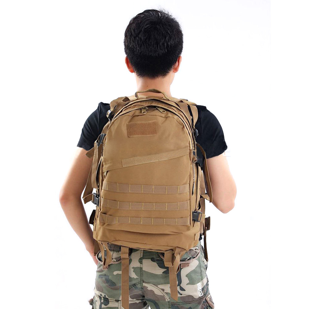 Men Women 40L Camping Hiking Bag Unisex Outdoor Military font b Tactical b font 3D Backpack