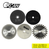 5 Pcs 85mm Cutting Tool Saw Blades For Multi Function Power Tool Circular Saw Blade Bore