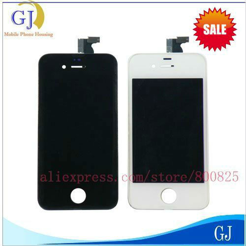 10 pcs/lot for iphone 4 4G LCD Display digitizer touch screen assemble replacement + tools ,free shipping