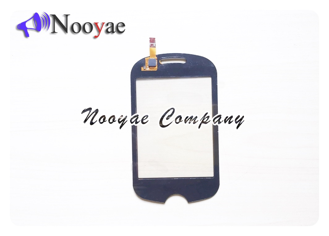 Novaphopat Black white touchscreen Sensor For Samsung Corby POP C3510 Touch Screen Digitizer Panel touchpad tracking
