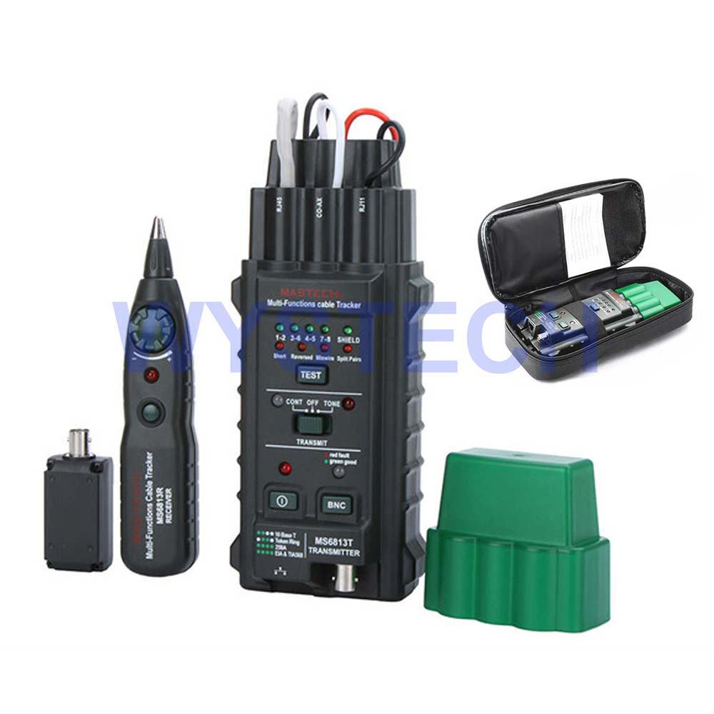 ФОТО LM003 MS6813 Network Cable Tester Telephone Line Detector Tracker RJ45 101Base-T FREE SHIPPING