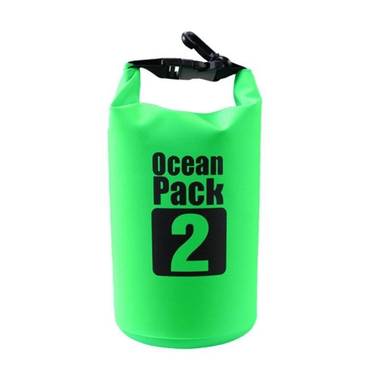 2L 3L 5L sacs imperméables sac sec résistant à leau pour Kayak extérieur canoë Rafting poche en amont