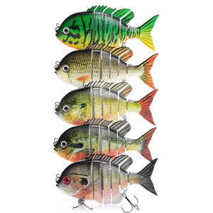 Image 5 - TREHOOK 9.5cm 36g Artificial Big Hard Lure Fishing Lure Jointed Bait Swimbait Crankbaits Fishing Tackle Sea Lures Wobblers Pike