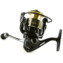 Hot Sale!!Soloplay Chameleon Series Baitcasting Reel 11+1 Bearing Balls Spinning reel fishing reel KT1000-KT4000 5.2:1 bait