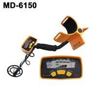MD-6150 máquina profesional de escáner de oro Detector de Metales de tierra profunda ¡envío gratis!