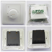 500 W Luz de Techo de Dimmable LED Dimmer 220 V 50 HZ Dimming Conductor Ajustable envío ControllerFree