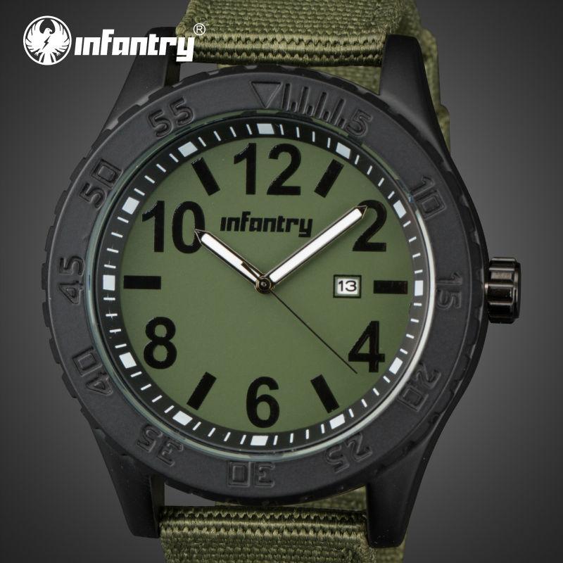 infantry ultra thin quartz watches