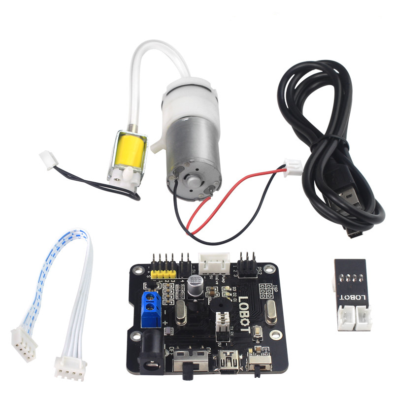 Air pump control panel steering gear controller air pump pressure control system for DIY robot manipulator remote control parts air emission control handbook