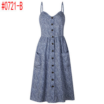 Azul Blanco flores - 0721-B