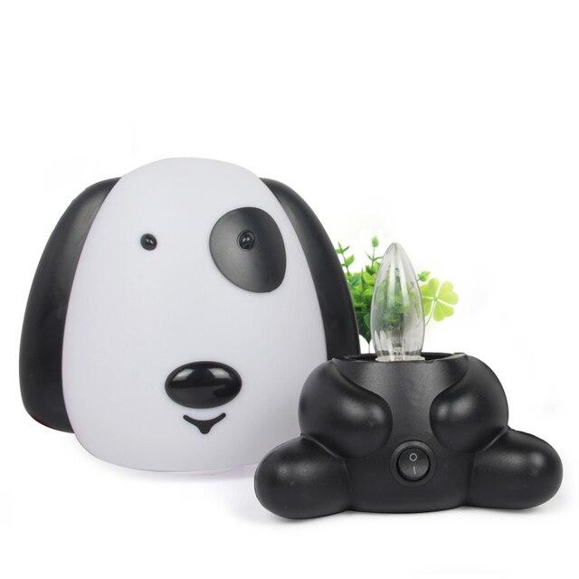 Animales de dibujos animados luces de noche bonito Conejo, oso Panda perro gafas conejo lámparas de interior dormitorio LED iluminación niños bombilla regalo Decoración