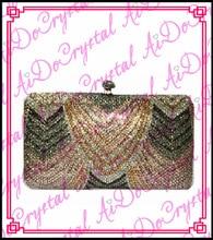 Aidocrystal glitter perlen frauen kupplung handtasche für hochzeit