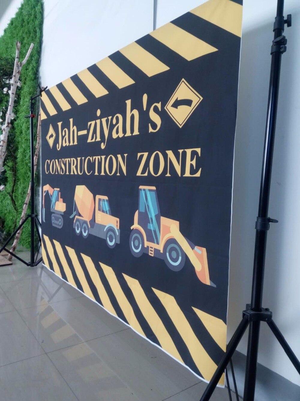 construction birthday party banner dump truck banner t