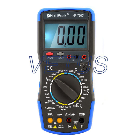 HP-760C HP760C 20KHz Digital LCR meter digital lcr meter china lcr meter with led display
