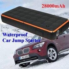 Супер Мощность 1000a автомобиля Пусковые устройства Портативный Водонепроницаемый пусковое устройство бензин дизель 12 В автомобиля Зарядное устройство для автомобиля Батарея Booster LED