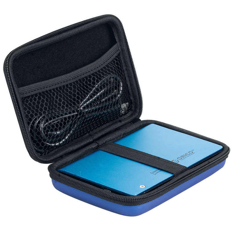 """ORICO 2.5"""" HDD Case Protect Bag box for Seagate Samsung WD Hard Drive Power Bank USB Cable Charger External Hard Disk pouch Case"""