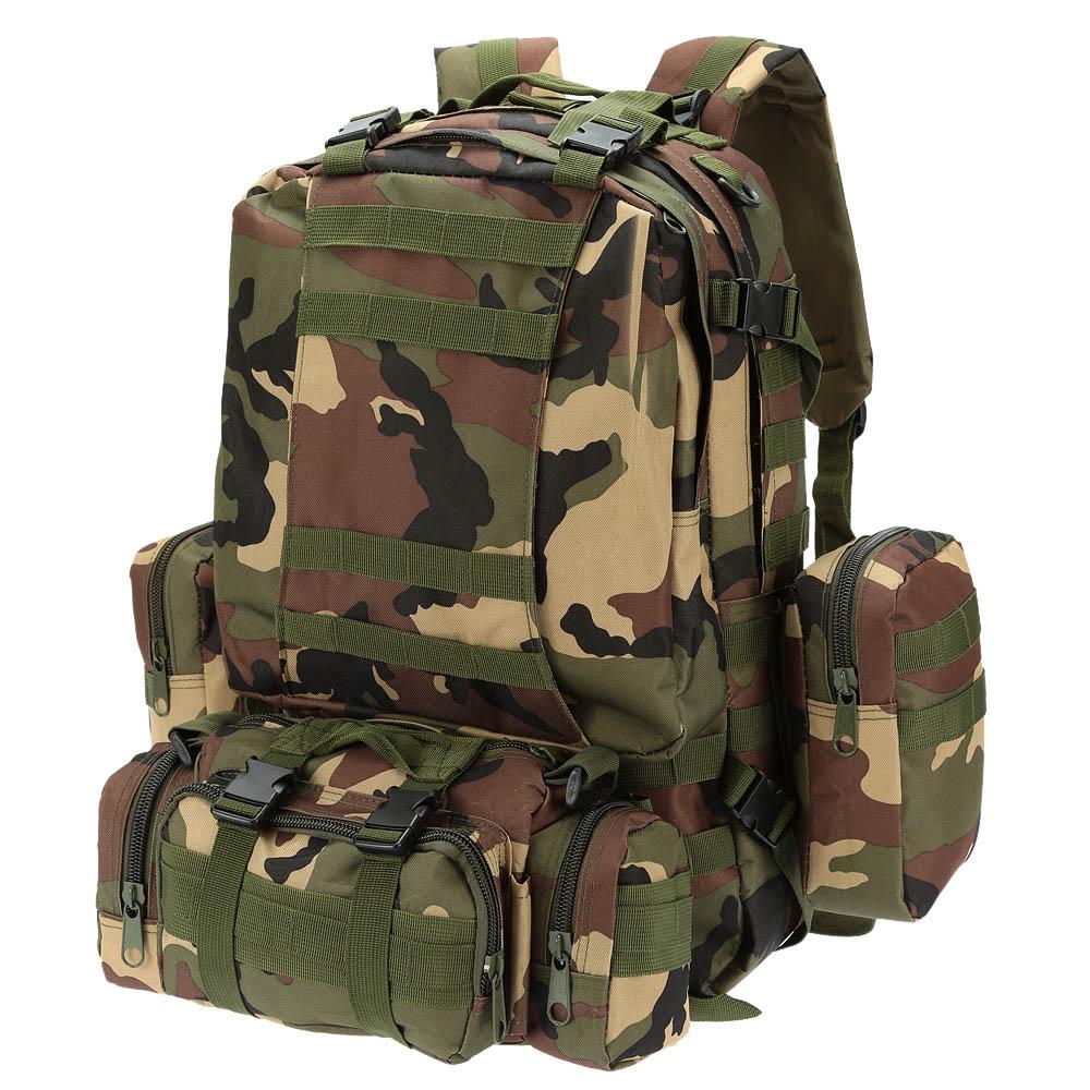 Prix pour 8 Couleurs Camping Sacs Hommes En Plein Air Molle Sac À Dos Militaire Tactique Bagpack Femmes Grand Assault Sac D'escalade Sac À Dos
