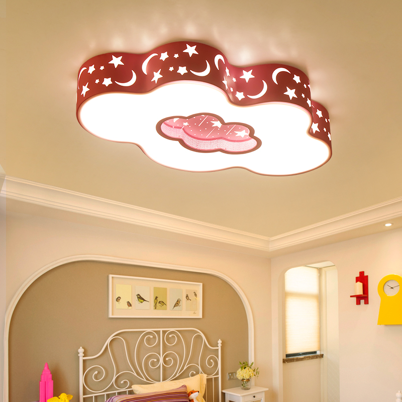 Modern LED ceiling lights Children Colourful Clouds ceiling lamp bedroom room decor for kid ceiling lighting fixture