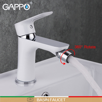 GAPPO Bidet Faucet white toilet shower bidet brass bidet toilet sprayer muslim shower mixer tap Deck Mount ducha higienica