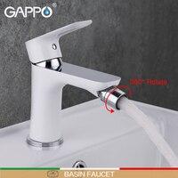GAPPO Bidet Faucet white toilet shower bidet brass bidet toilet sprayer muslim shower mixer tap Deck Mount ducha higienica