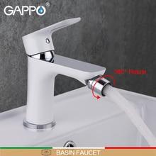 GAPPO grifo de bidé blanco para ducha, bidé de latón, pulverizador de inodoro, mezclador de ducha musulmán, montaje en cubierta