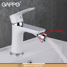 GAPPO לבן ברז בידה אסלה בידה מקלחת פליז מוסלמי סיפון הר ברז מיקסר מקלחת מרסס שרותים בידה higienica ducha