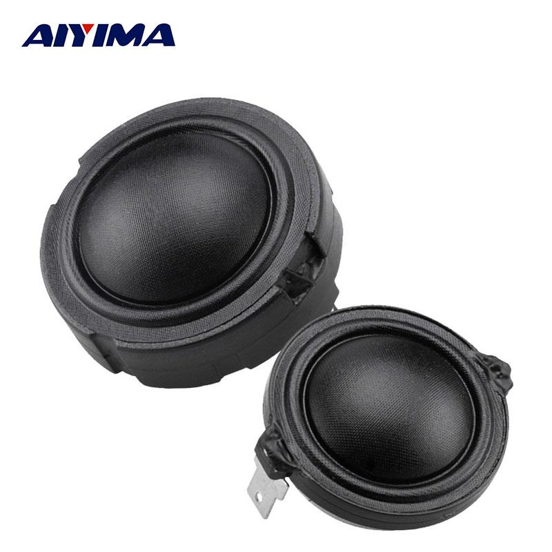 AIYIMA 2 pièces 1.5 pouces Haut-parleurs Audio 4Ohm 80 W 25 Fibers Membrane Rubidium Magnétique Haut-Parleur HiFi Passionnés Aigus Tweeter Tête