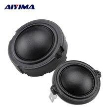 Aiyima 2 шт. 1.5 дюйма аудио Колонки 4Ohm 80 Вт 25 core Волокна мембраны рубидия магнитного Динамик HiFi любителей высоких частот твитер головы