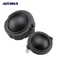 2pcs 4ohm 80W 1 5inch 25Core Fiber Membrane Rubidium Magnetic Speaker HiFi Enthusiasts Treble Head Tweeter