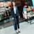 Plus Size 2016 Nova Moda Slim Desgaste do Negócio Das Mulheres Elegantes escritório OL Conjunto Formal Blazer Jaqueta + Calça Terno Feminino feminino