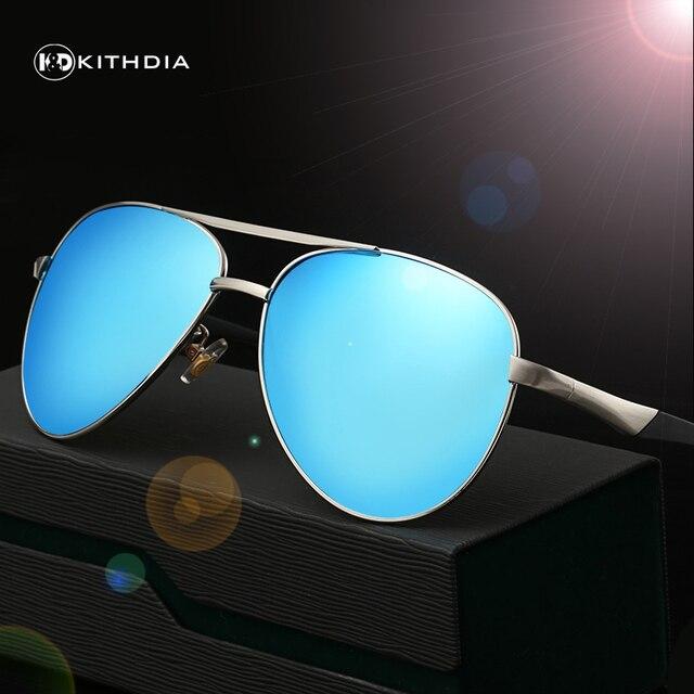 KITHDIA HD polarized sunglasses aluminum magnesium polarized men sunglasses glasses mirror vintage male driving glasses