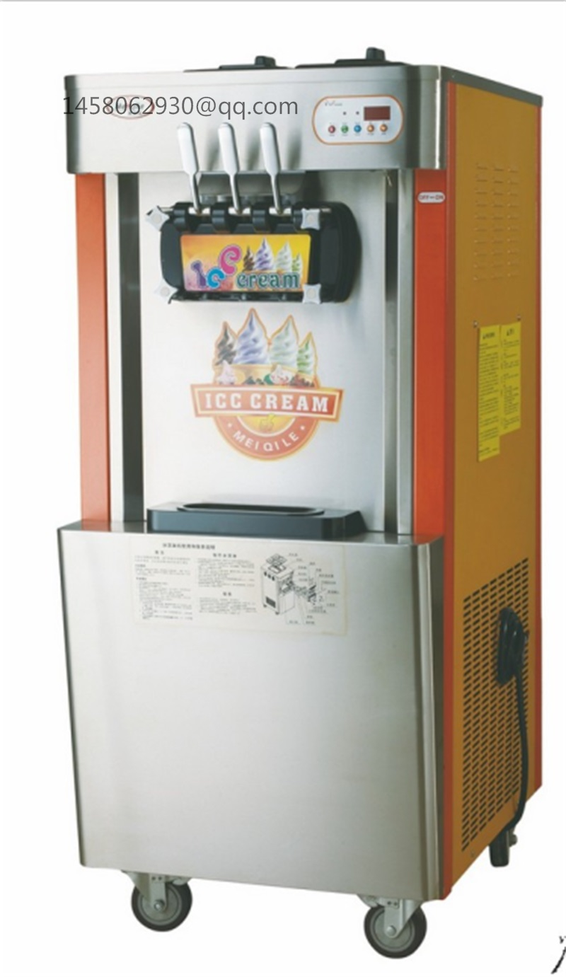 China wholesale factory price 2+1mixed flavours mobile soft ice cream machine with CE approved