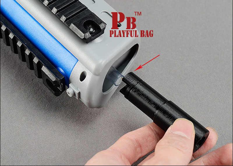 برميل حقيبة لعب لعوب g36 هلام الكرة الناسف 3d تسريع الماء الكرة هوب الأعلى تعديل جزء.
