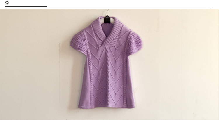 Autumn sets model of baby girls with short sleeves made of pure ...