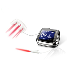LASTEK 18 Beams Bio 650nm Laser Pain Relief Wrist Watch Laser Therapy Device for High Blood Pressure Hypertension Treatment laser treatment machines for sale blood purifier low price phototherapy wrist type laser