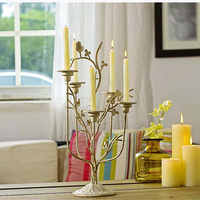 Hanging Glass Candle Holder Candlestick For Wedding Candlesticks Made Of Metal Lantern Candle Holder Moro QQX394