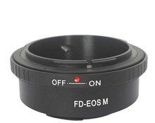 FD-E0S M lens adapter for Canon FD to E0S M EF-M Mirrorless Camera Body