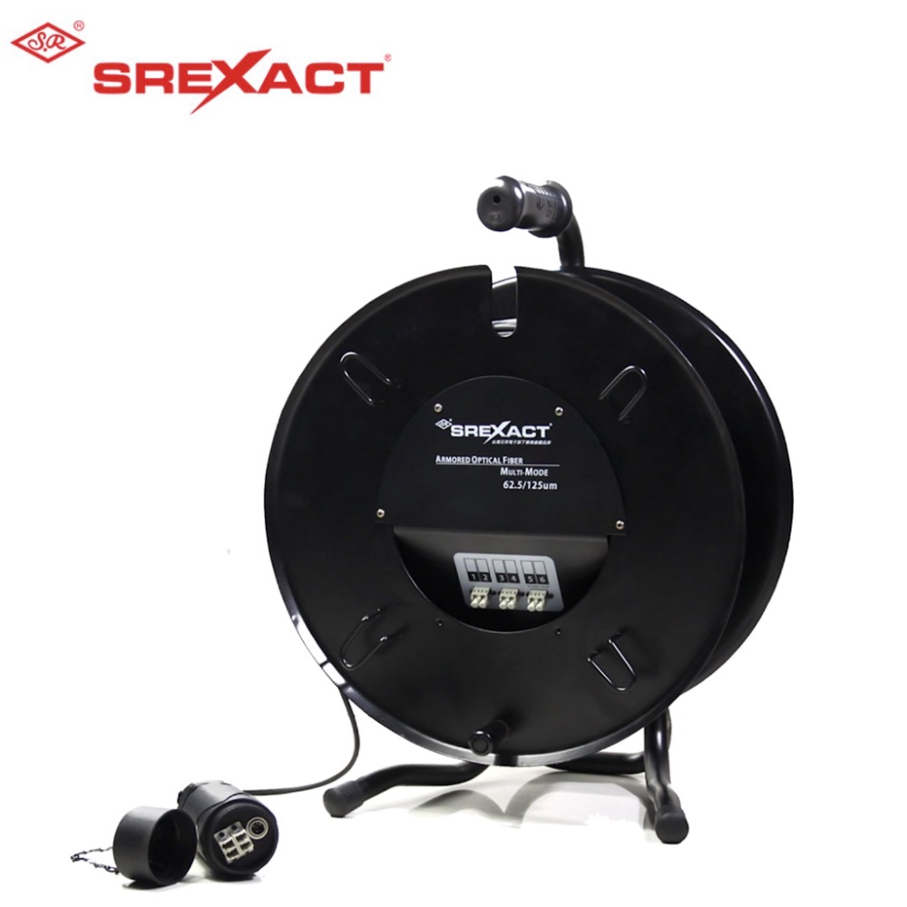 sunriseSFH 6M6A LCB 200M RH380CABLE REEL W/O WHEEL6C MULTI MODE62.5umARMORED,LC LC PATCH CABLE,62.5/125um multi mode 6C,Armored