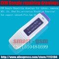 Zilhão originais x Trabalho ZXW DONGLE Reparo do telefone móvel de Reparo placa de circuito PCB placa de circuito do telefone diagrama de ativação de peixe Preto