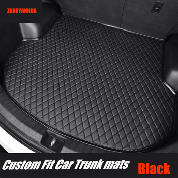 ZHAOYANHUA Car trunk mats for Mazda CX-7 CX7 5D all weather protection heavy duty car-styling carpet rugs floor liners(2006-) image