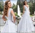 Свадебные платья Noiva новый модный линия кружева спинки свадебные платья 2016 невесты платья одеяние де свадебная на заказ