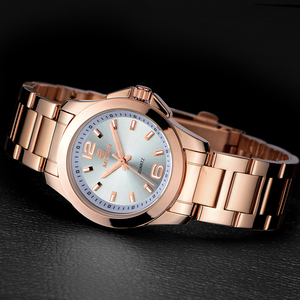 Image 2 - MEGIR Relojes Mujer Pareja de Lujo Vestido Reloj Relogio Feminino Montre Femme Reloj para Las Mujeres Señoras Reloj de Cuarzo para Los Amantes