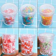 Red and White Love Cherry Blossom Slime Supplies Filler Decoration Accessories Clay DIY Material Slime Kids Adult Toy(China)