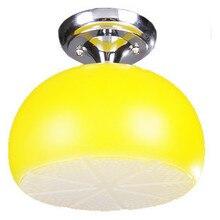 Лимон потолочное освещение ресторан светильник