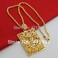 NEC1513 Min Order Of 15 Mix Order Free Shipping New Arrivals Luxury Jewelry Real Gold 24k