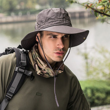 Men Cap Summer Fishing Hat Uv Protection Women Fisherman Outdoor Unisex Sunhat Foldable Bucket Mountaineering Hats