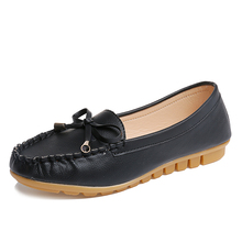 Dames chaussures femmes casual chaussures de marche solide slip-on mocassins confortable femmes chaussures plates sh020078
