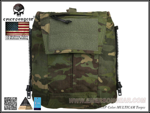 Image 5 - Emersongear Tactical Pack Zip on 패널 Multicam Plate Carrier Zip 백 가방 CPC NCPC JPC 2.0 AVS Vest 용 수화 캐리어