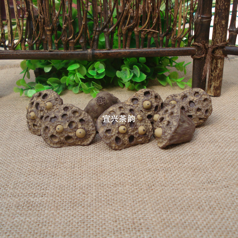 painting Products Handmade Fake Simulation Redware Lotus Root Food Dummy Kitchen Wedding Home Decoration Gifts natural teach